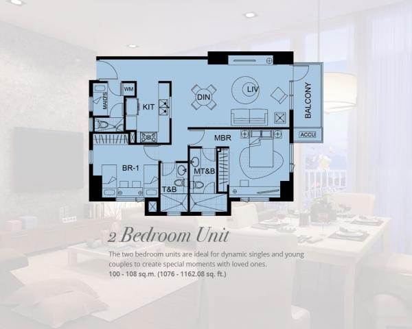 1 Bedroom condo unit alabang